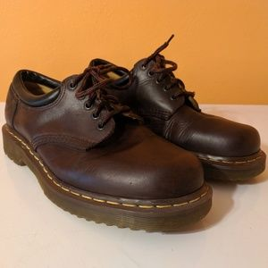 Dr Martens 10905 Brown Leather Oxford Boots 10M